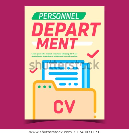 Personnel Concept with Word on Folder. Stock photo © tashatuvango