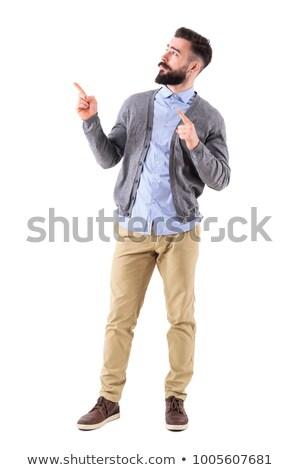 Portrait of a unsure man in casual clothes Stock photo © wavebreak_media