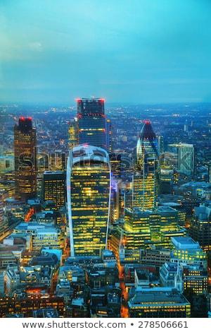 Londres · centro · de · la · ciudad · paisaje · urbano · edificio · Inglaterra · ciudad - foto stock © andreykr