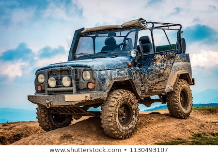 Old Off-Road Car Stock photo © cosma