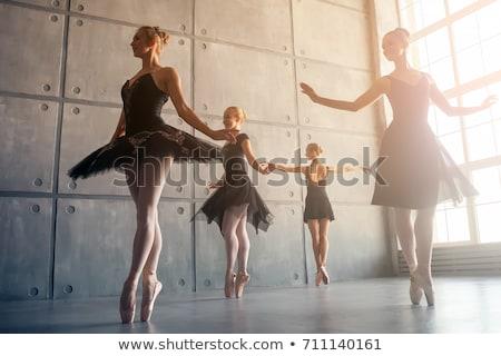 つま先 · ダンス · 肖像 · バレリーナ · ダンス - ストックフォト © elnur