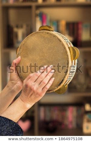 afrikai · karnevál · táncos · pózol · szamba · nő - stock fotó © stockyimages