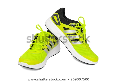 toile · chaussures · mode · design · studio - photo stock © shutswis
