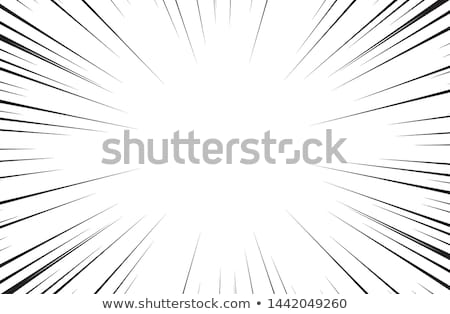 Manga Comics Radial Speed Lines Stock photo © ClipArtMascots
