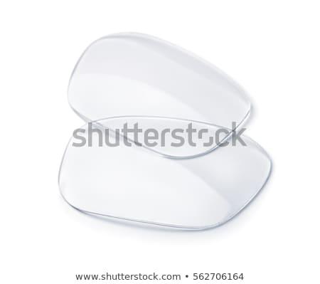 Lente colorido ojo vidrio plástico Foto stock © magraphics