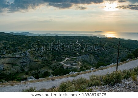 The greek archipelago at sunrise Stock photo © lightkeeper
