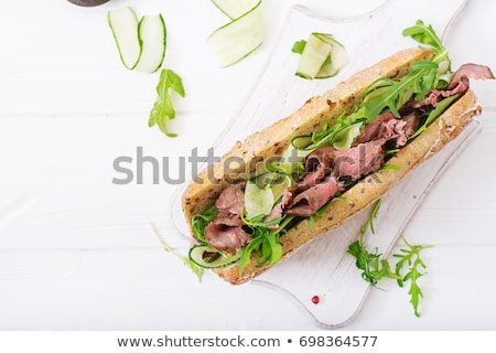 Roast Beef Sandwiches  Stock photo © Digifoodstock