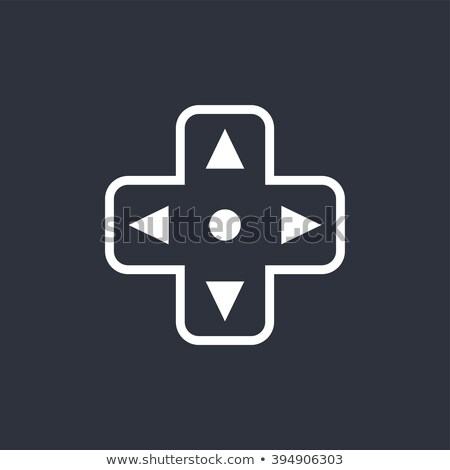 Video game troosten vector grafische kunst Stockfoto © vector1st