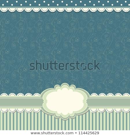 valentine card design template eps 8 stock photo © beholdereye