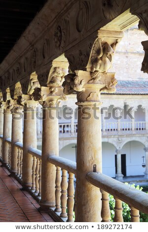 Gallery of the cloister in Las Due Stock photo © Photooiasson