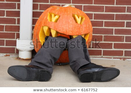 monster eating jack o lantern stock photo © lightsource
