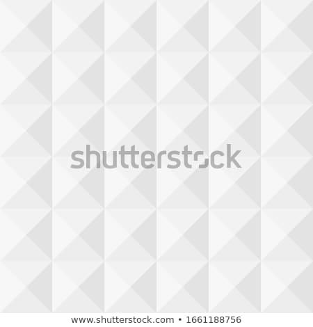Pyramids white pattern. Vector Stock photo © Said