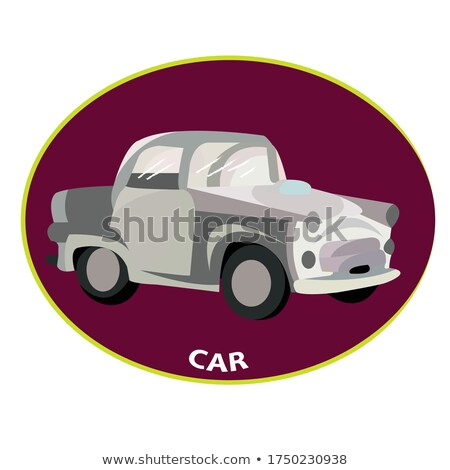 Sport coupe clipart afbeelding weg model Stockfoto © vectorworks51