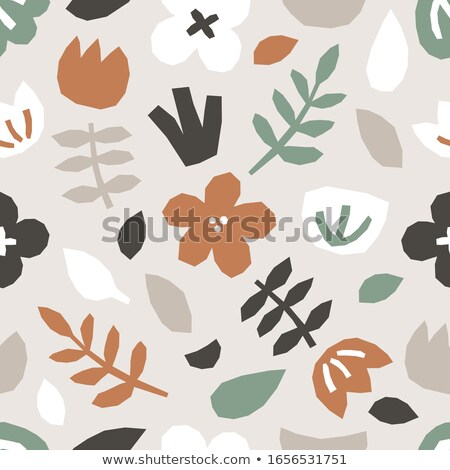 white neutral seamless pattern for modern design in flat style stock photo © almagami