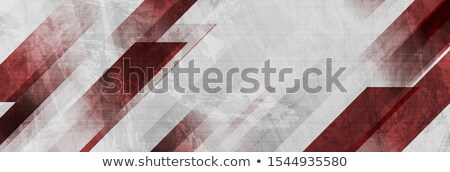 Dark red contrast abstract luminous stripes Stock photo © saicle