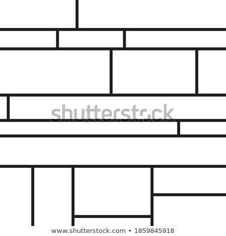 ルーム 着色した 正方形 飾り クラブ 青 ストックフォト © SwillSkill