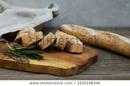 белый все зерна багеты продовольствие Сток-фото © Digifoodstock