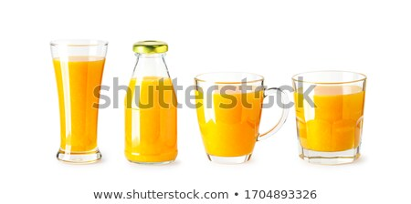 Stock photo: cocktail glass collection isolated on white clipping path