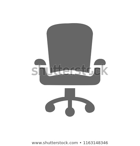 Gast bureaustoel icon kantoor werk home Stockfoto © angelp