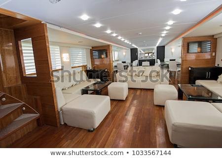jacht · fülke · belső · csónak · hajó · vitorlázik - stock fotó © goce