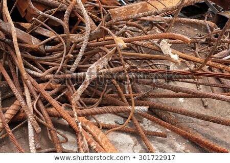 aço · demolição · pronto · reciclado - foto stock © Qingwa