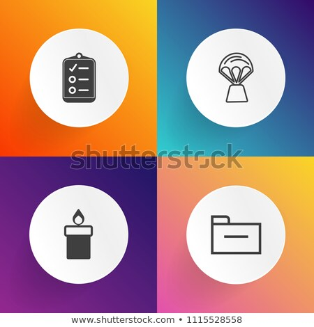 Folder in Catalog Marked as Fired. Stock photo © tashatuvango
