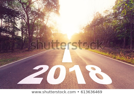 Going Ahead to Year 2018 Stock photo © ivelin