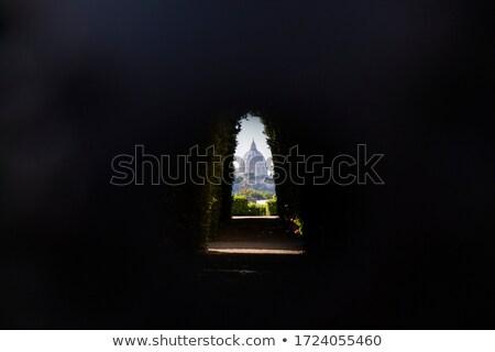 Róma kupola történelmi építészet közelkép Olaszország város Stock fotó © Givaga