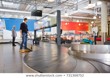 businessman on conveyor belt, waiting Stock photo © IS2