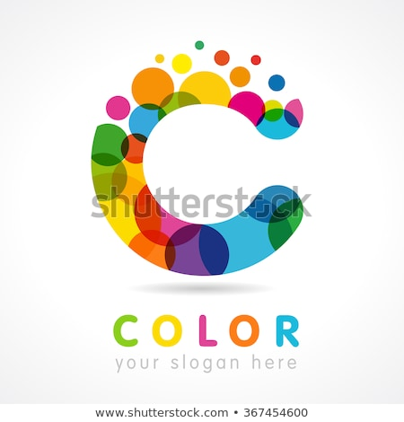 Emblem Digital Currency - Vector Colored Logo. Stock photo © tashatuvango