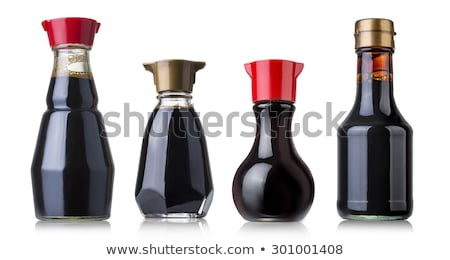 Sojasaus bonen fles sojasaus top Stockfoto © shutter5