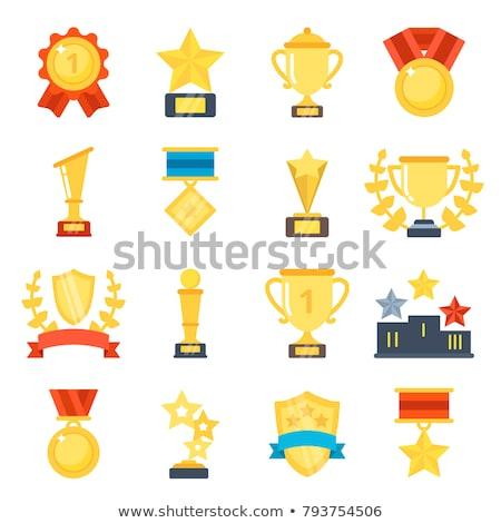 Vencedores ícone diferente estilo vetor símbolo Foto stock © sidmay