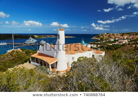 church Stella Maris in Porto Cervo, Costa Smeralda, Sardinia, It Stock photo © compuinfoto