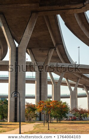 a suspended motorway stock photo © is2