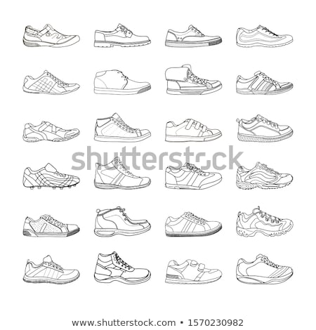 Set of different boots  Stock photo © DeCe