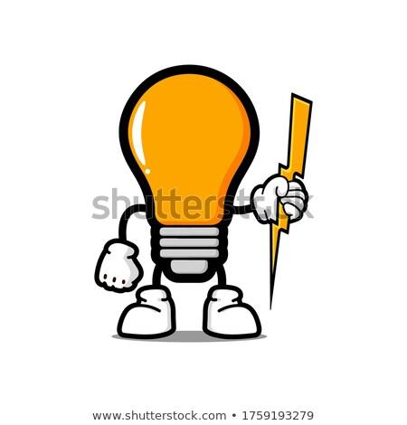 Yunan · Tanrı · karikatür · örnek · aydınlatma - stok fotoğraf © cthoman