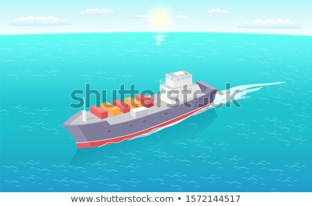 groot · containerschip · haven · container · schepen · haven - stockfoto © robuart