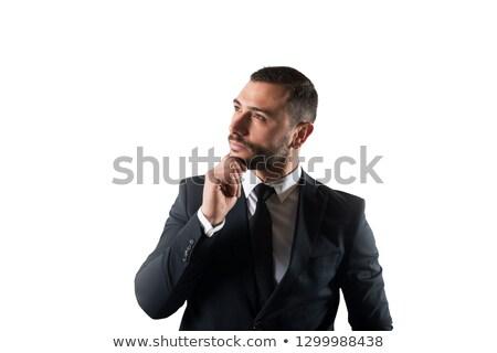 üzletember új stratégiák nő felfelé cég Stock fotó © alphaspirit