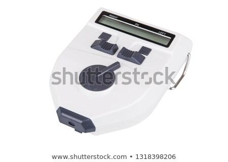 Electronic Pupilometer Stock photo © Hochwander