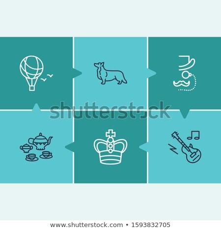 Jeweler icons pattern Stock photo © netkov1