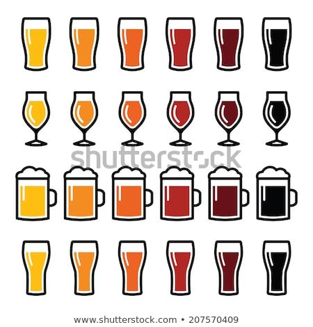 cerveja · salto · vida · ouro · bubbles - foto stock © inxti