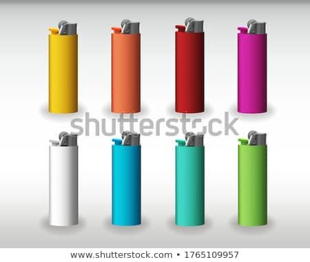 сжигание · сигарету · иллюстрация · конец · белый · здоровья - Сток-фото © pikepicture