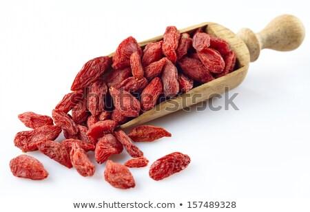 aszalt · bogyók · piros · textúra - stock fotó © melnyk