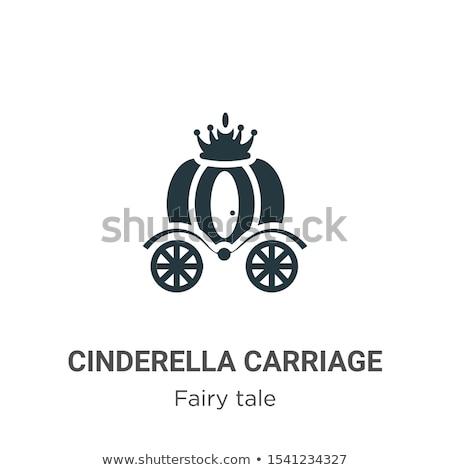 vector flat Cinderella carriage Stock photo © VetraKori