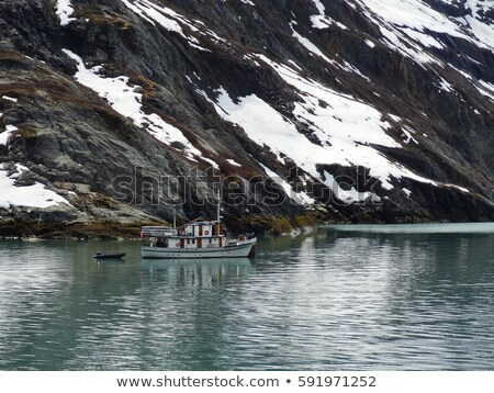 Approaching Lamplugh Glacier Stock photo © jsnover