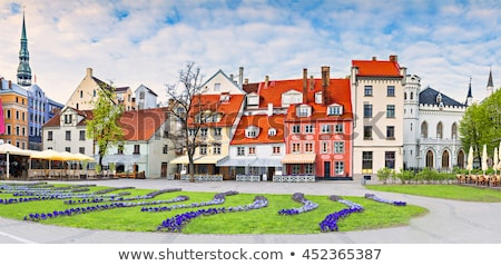 Livu square, Riga Stock photo © borisb17