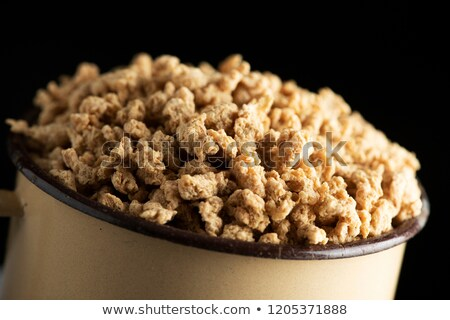 textured soy protein in a beige pot Stock photo © nito