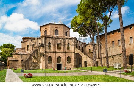 Basilica of San Vitale, Ravenna, Italy Stock photo © borisb17