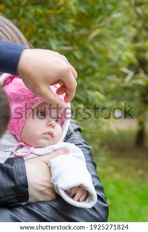 материнский привязанность мирный ребенка мальчика спальный Сток-фото © lichtmeister