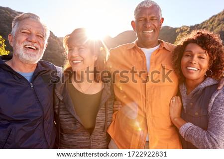 フロント 表示 アクティブ 笑い 見える ストックフォト © wavebreak_media